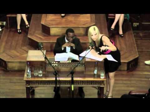 Shelley Lubben Debates Pornography at Cambridge University