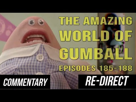 [RE-DIRECT][Blind Reaction] The Amazing World of Gumball Episode 185-188