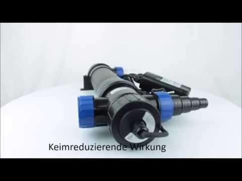 OSAGA UV-KLÄRGERÄT UVC 36 - Produktvideo / 360°-Ansicht