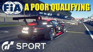 GT Sport FIA Round 1 Manufacturer Exhibition - Bad Qualifying