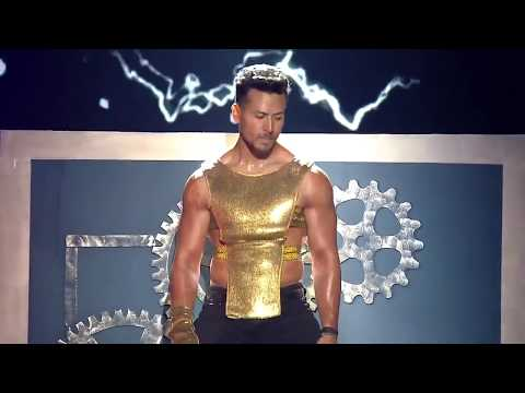 Tiger Shroff dance performance on Star Screen Awards