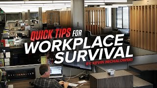 Into The Fray Episode 159: Quick Tips For Workplace Survival