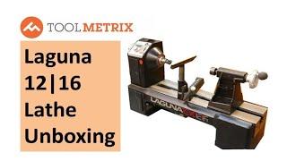 Laguna 1216 Lathe Unboxing