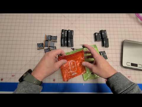 Dual Pocket Battery Bags