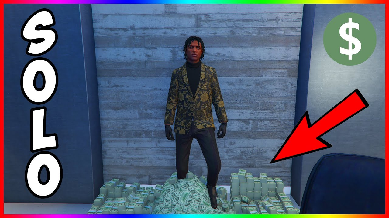 How to Earn Money Quick in GTA 5 Online Solo