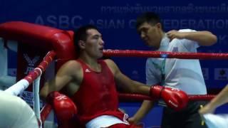 Супер бой! 19 летний Бектемир Меликузиев деклассировал опытного чемпиона мира Жанибека Алимханулы