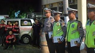Viral, 4 Anggota Polisi Hentikan Iring-iringan Presiden demi Utamakan Ambulans yang Bawa Pasien