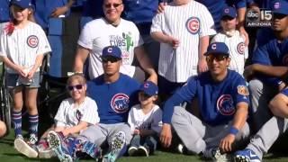 Chicago Cubs host inspiring superfans at spring training - ABC15 Digital
