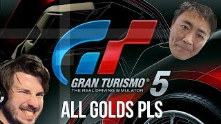 Gran Turismo 5 - Golding All Challenges Until My Brain Melts