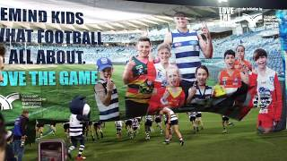 Geelong Cats & AFL Barwon Love the Game Partnership