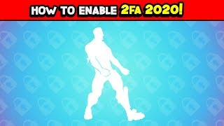 How to enable 2FA Fortnite 2020 ! ( How to get 2FA) Tutorial! PC XBOX AND PS4