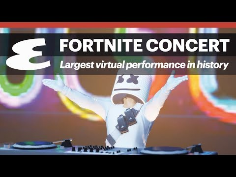 a8b677e3a3645b Why the Marshmello x Fortnite concert is such a big deal