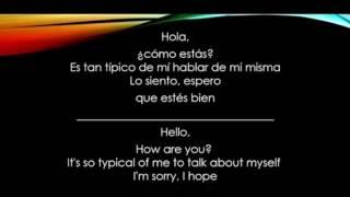 Hello -Adele Letra En Español Y en Ingles