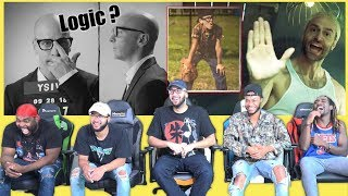 Logic   Homicide Ft. Eminem VIDEO REACTIONREVIEW 😂😂