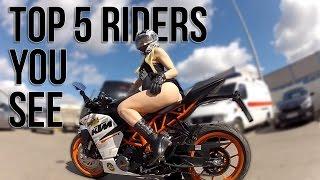 Top 5 Sport Bike Riders You Always See