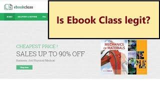 Ebookclass.com - is Ebook Class legit? My review about this online shop
