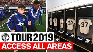 Manchester United   Tour 2019   Access All Areas   Perth Glory   James, Rashford, Garner