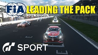 GT Sport Leading The Pack - FIA Nations Round 9