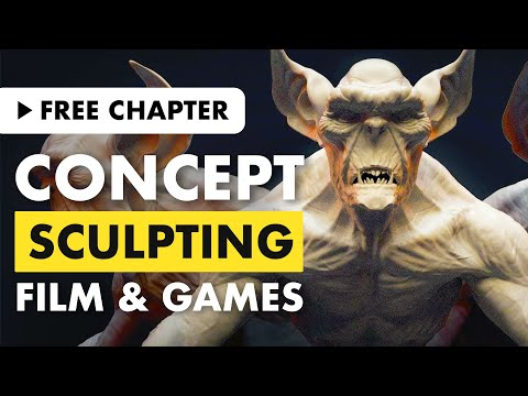 Concept Sculpting for Film and Games   Free Chapter
