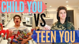 Child You VS Teenage You! | Brent Rivera