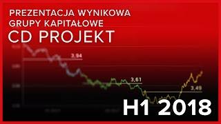Prezentacja wynikowa Grupy Kapitałowej CD PROJEKT za H1 2018