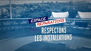 Espace reparation 01 - Respect des installations