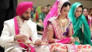 Jasprit & Harjot | SDE | Sikh Wedding Highlights 2015 by AVP Studios Canada