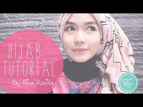 Video [BEST] Cara Memakai Jilbab Pashmina - HijabStyleID Tutorial - by Riva [2014]