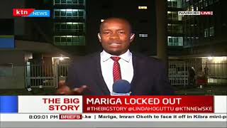 Jubilee aspirant Mariga locked out of Kibra polls | The Big Story
