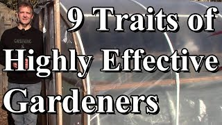 9 Traits of Highly Effective Gardeners