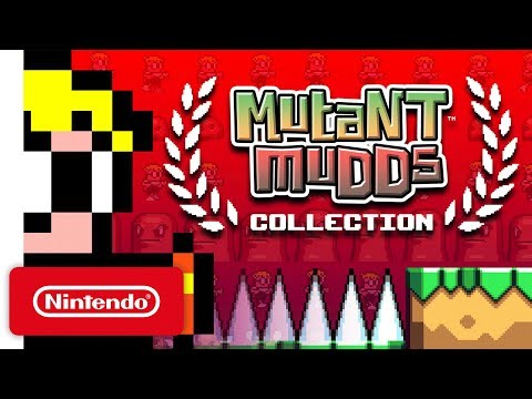Mutant Mudds Collection Trailer - Nintendo Switch