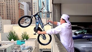 Will a Bicycle Survive from 100FT Drop? - WillitBREAK?