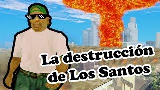 La Muerte De Cj Junior - GTA SAN ANDREAS Loquendo - Самые