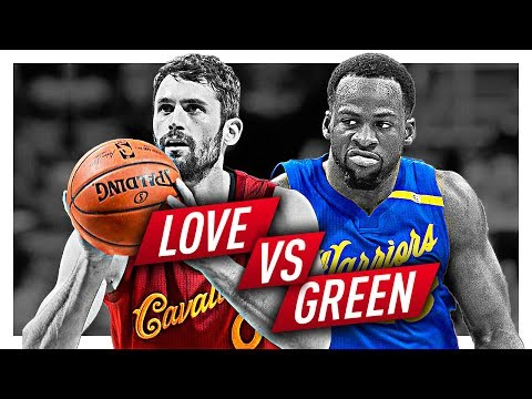 Draymond Green vs Kevin Love BATTLE Highlights from 2016-2017 Season! (Defense Included)