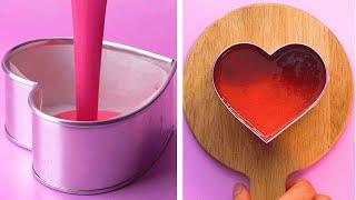 My Favorite Heart Cake Decorating Ideas   Tasty Cake Decorating Tutorial   So Yummy Cake Recipe