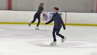 U.S. Champion Skater Alysa Liu Returns to Oakland Home Rink