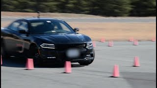Becoming an Agent: Driving the Precision Obstacle Course (360-Degree Video)