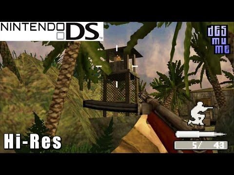 Call of Duty: World at War - Nintendo DS Gameplay High Resolution (DeSmuME)