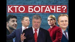 Сколько денег у кандидатов в президенты Украины? – Утро в Большом Городе