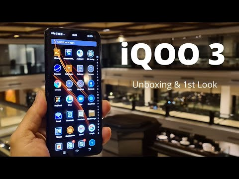 iQOO 3 5G Unboxing and 1st Impression