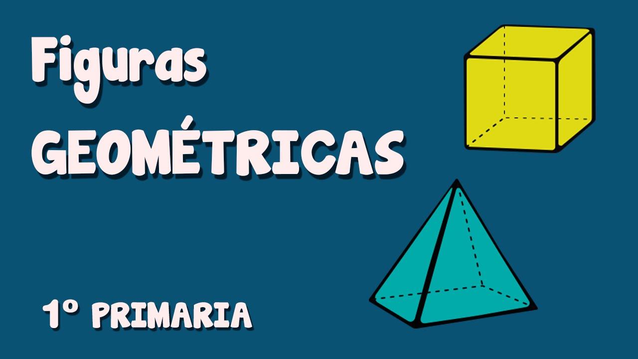 Las figuras geométricas: prisma, cubo y pirámide. Para niños