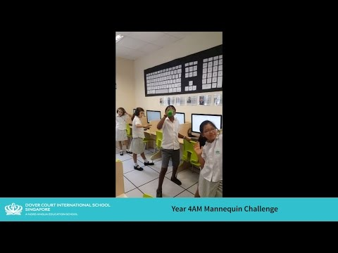 Year 4AM Mannequin Challenge