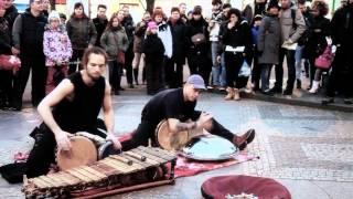 Video Výplach-Busking-Václavské náměstí