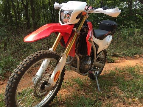 Honda CRF250L 8000 Mile Review Dual Sport Adventure Bike MotoVlog
