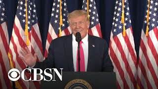 Trump Leaves Press Conference When Pressed On Veterans Choice Misinformation