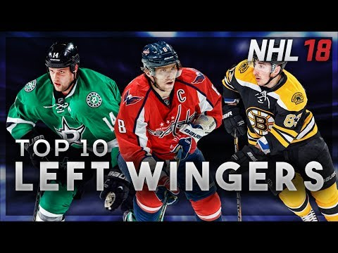 NHL 18 Ratings Predictions (Top 10 Left Wingers)