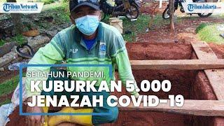 Kisah Junaedi Kuburkan 5.000 Jenazah Covid-19, Malah Sempat Dijauhi Tetangga, selama Setahun Pandemi