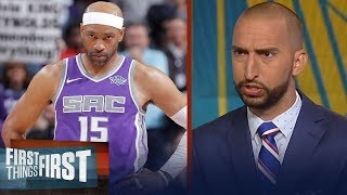 Nick and Cris react to Vince Carter's comments on ring chasing | NBA | FIRST THINGS FIRST