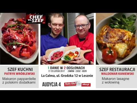 Wideo1: Pappardelle czy lasagne?