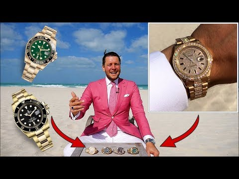 Gold Rush in Abu Dhabi: Rolex GMT-Master 2, Submariner, Day-Date 2 Diamond Setting